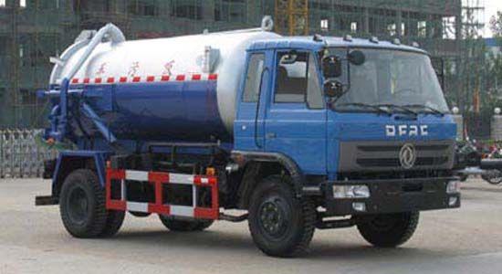 东风145吸污车9-10吨吸污车