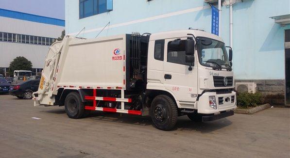 东风12-15方压缩式垃圾车
