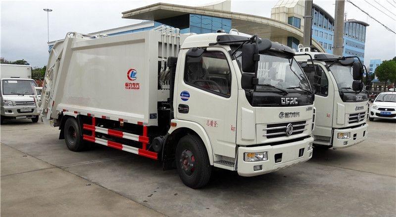 东5吨压缩式垃圾车
