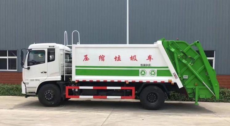 东风天锦12方-14方压缩垃圾车