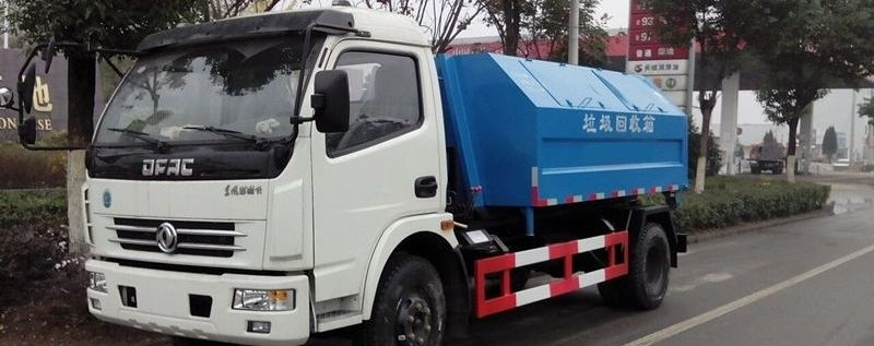 东风8方拉臂垃圾车