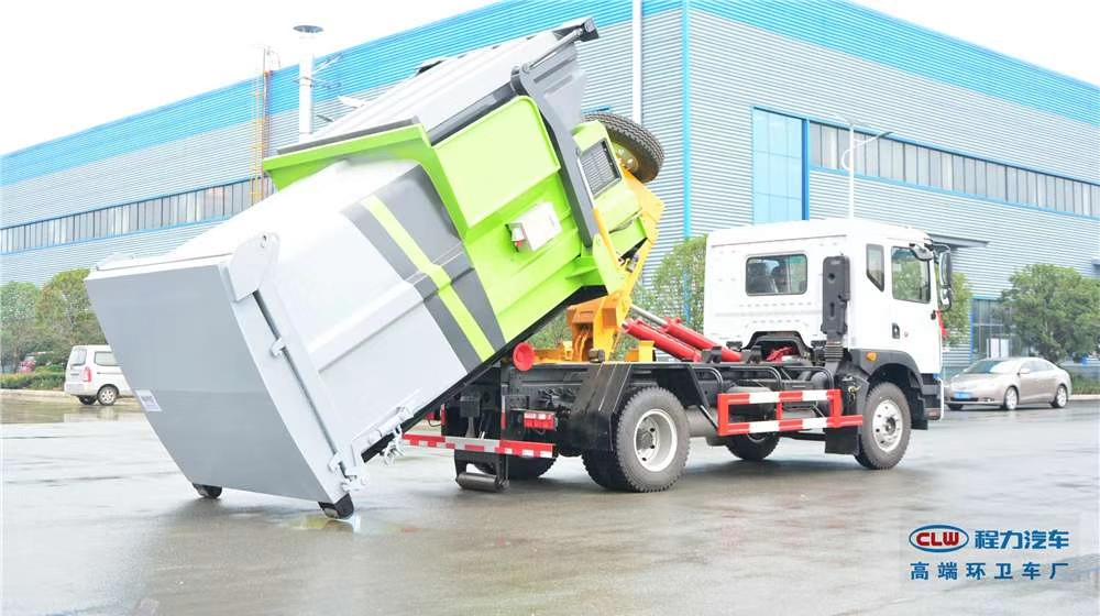 移动式压缩垃圾箱(8-18方)
