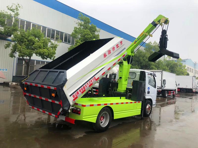 东风清淤抓斗车