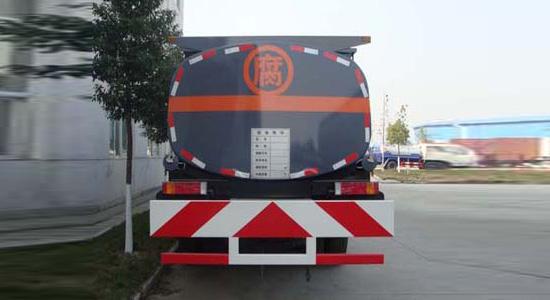 东风天龙前四后八化工液体运输车