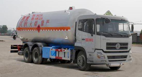 东风后双桥液化气体运输车