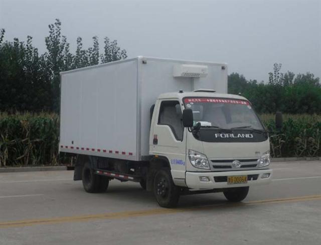福田4.18米冷藏车