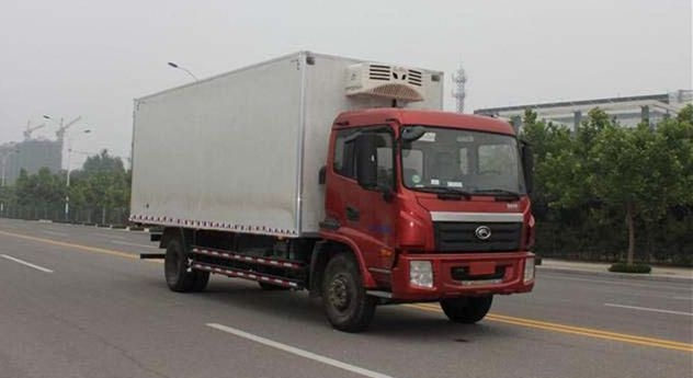 福田6.8米冷藏车