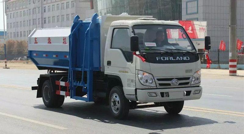 福田6方挂桶垃圾车