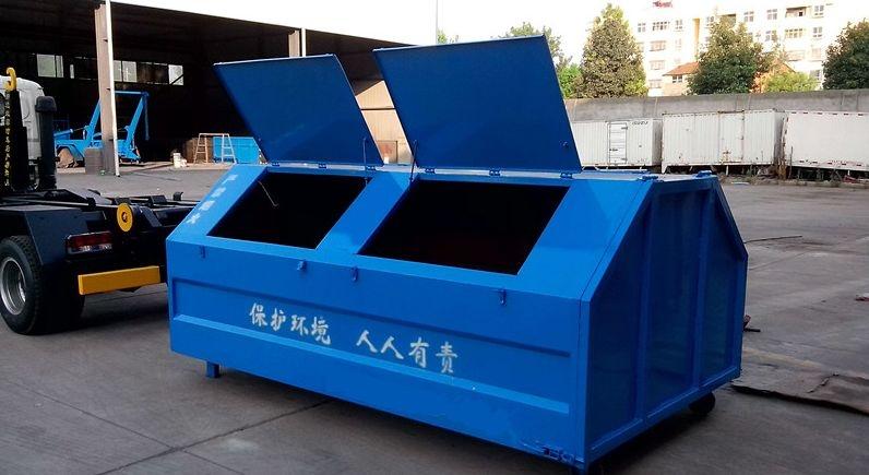 勾臂垃圾箱根据数量选择合适的运输方式节约成本:量