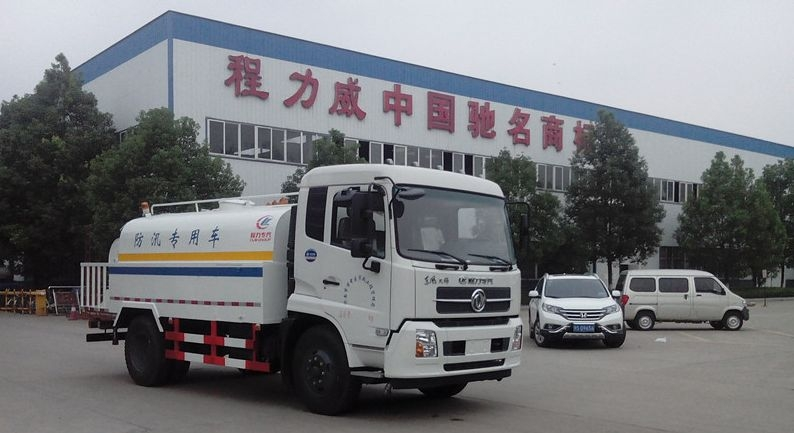 东风天锦8方清洗洒水车
