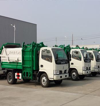 程力垃圾车厂家告知客户垃圾车带你致富创业 行业前景非常不错
