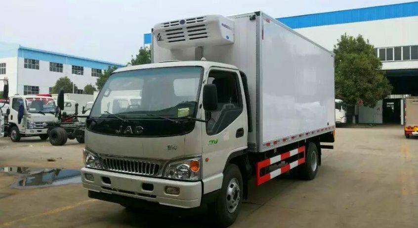 江淮骏铃冷藏车(厢长4.1米)