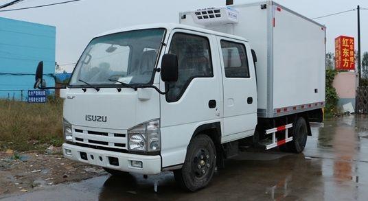 五十铃双排冷藏车(厢长3.1米)