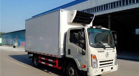 大运单排冷藏车(厢长4米)