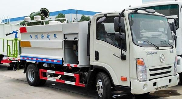 大运4-6方抑尘车(环境监测车)