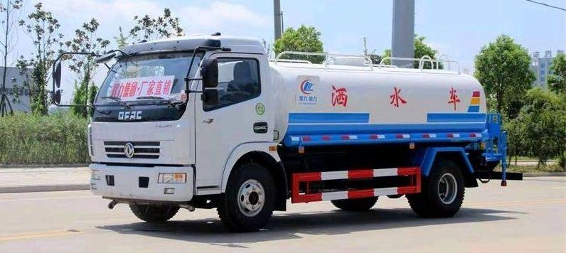 东风7-9吨洒水车