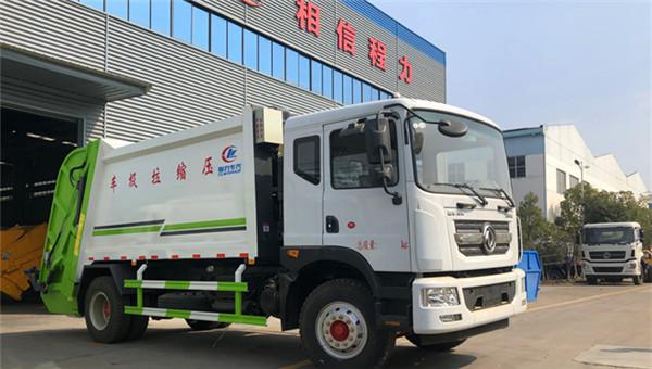 东风D9高端10-12方压缩垃圾车