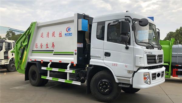 东风10-12方压缩式垃圾车