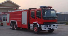 泡沫消防车